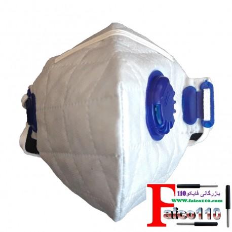 یراق آلات کابینت -کمد دیواری .... ماسک فیلتردار(سوپاپ دار)(آنتی باکتری)(پک ده عددی)