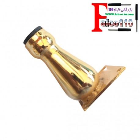 پایه / پایه فلزی 11 سانتی استوانه ای طلایی (بسته 4 عددی)