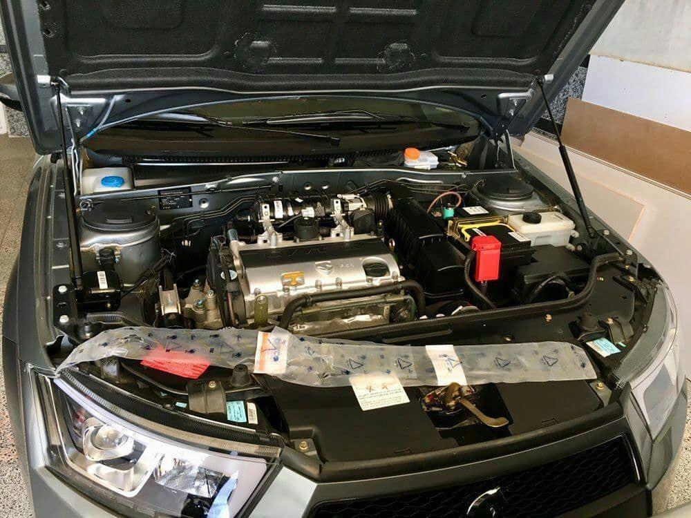 جک گازی برای کاپوت خودرو